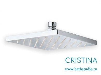 Верхний душ Cristina Shower 18x18см