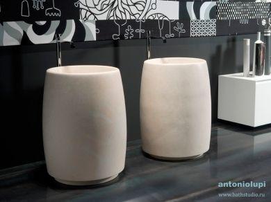 Antonio Lupi Barrel Раковина из камня Pietra