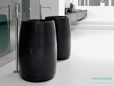 Antonio Lupi Barrel Раковина из камня Nero