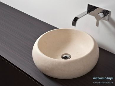 Antonio Lupi Bull Раковина круглая из камня