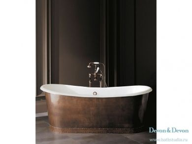 Devon Devon Ambra Чугунная ванна 182х81см